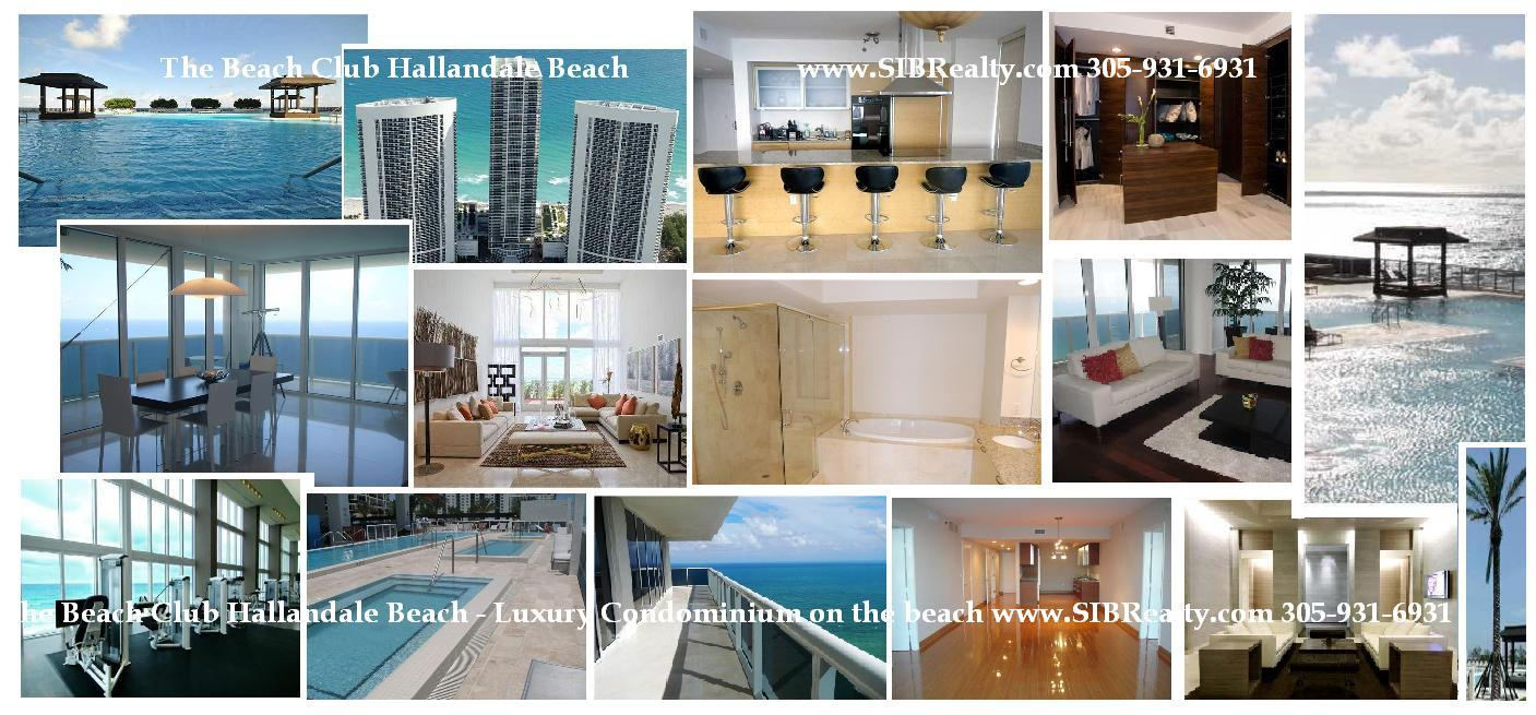 Beach Club Hallandale Beach - Luxury oceanfront condos for sale and rent.