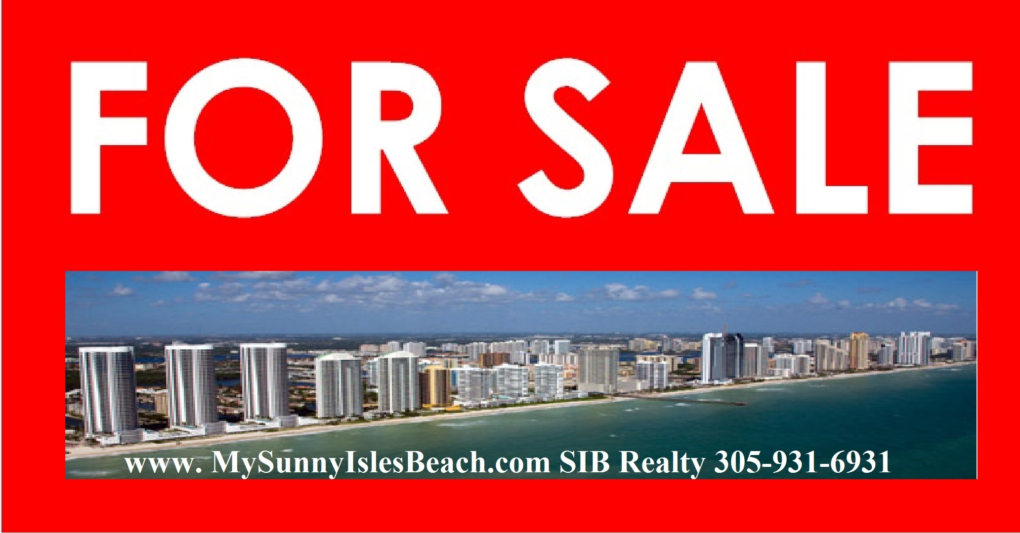 For Sale Winston Towers Sunny Isles Beach
