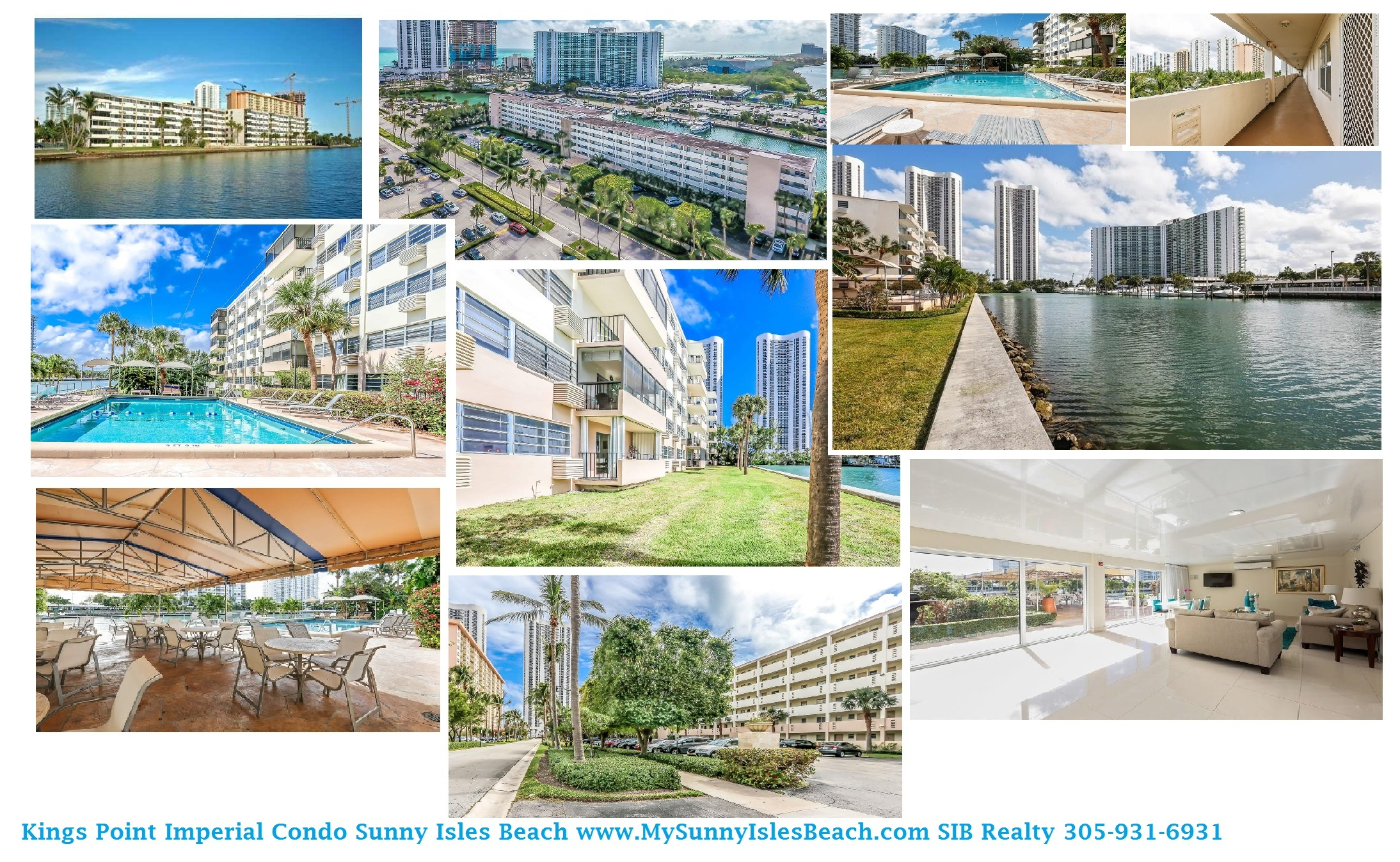 Kings Point Imperial Sunny Isles Beach Condo for Sale with SIB Realty
