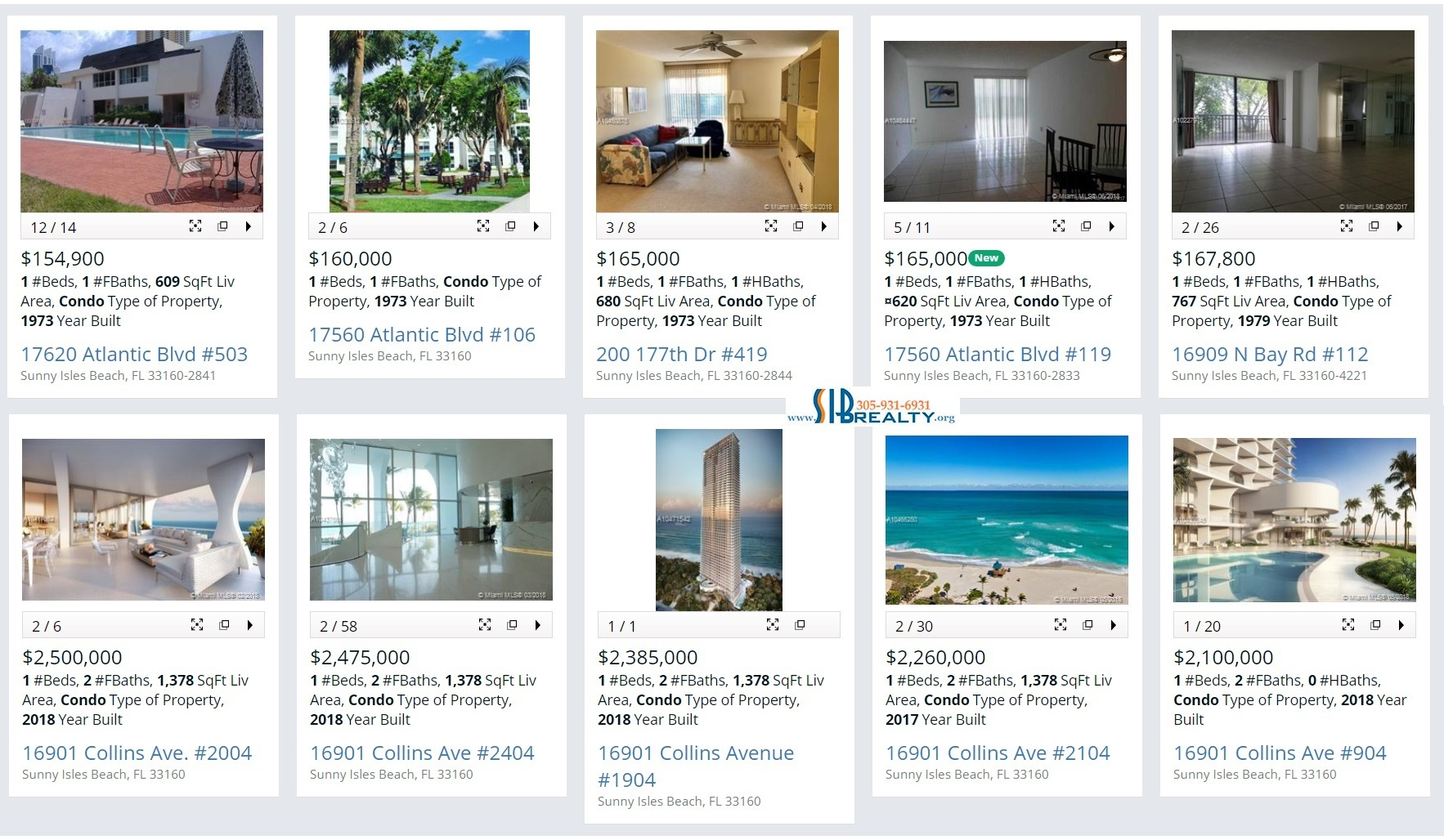 One Bedroom Condo For Sale Sunny Isles Beach June 23 2018
