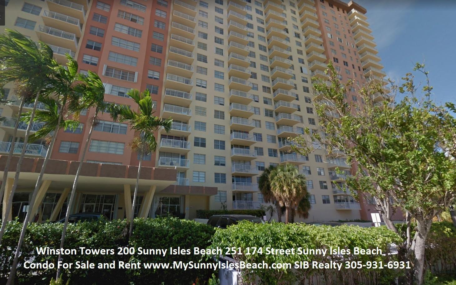 Winston Towers 200 Sunny Isles Beach