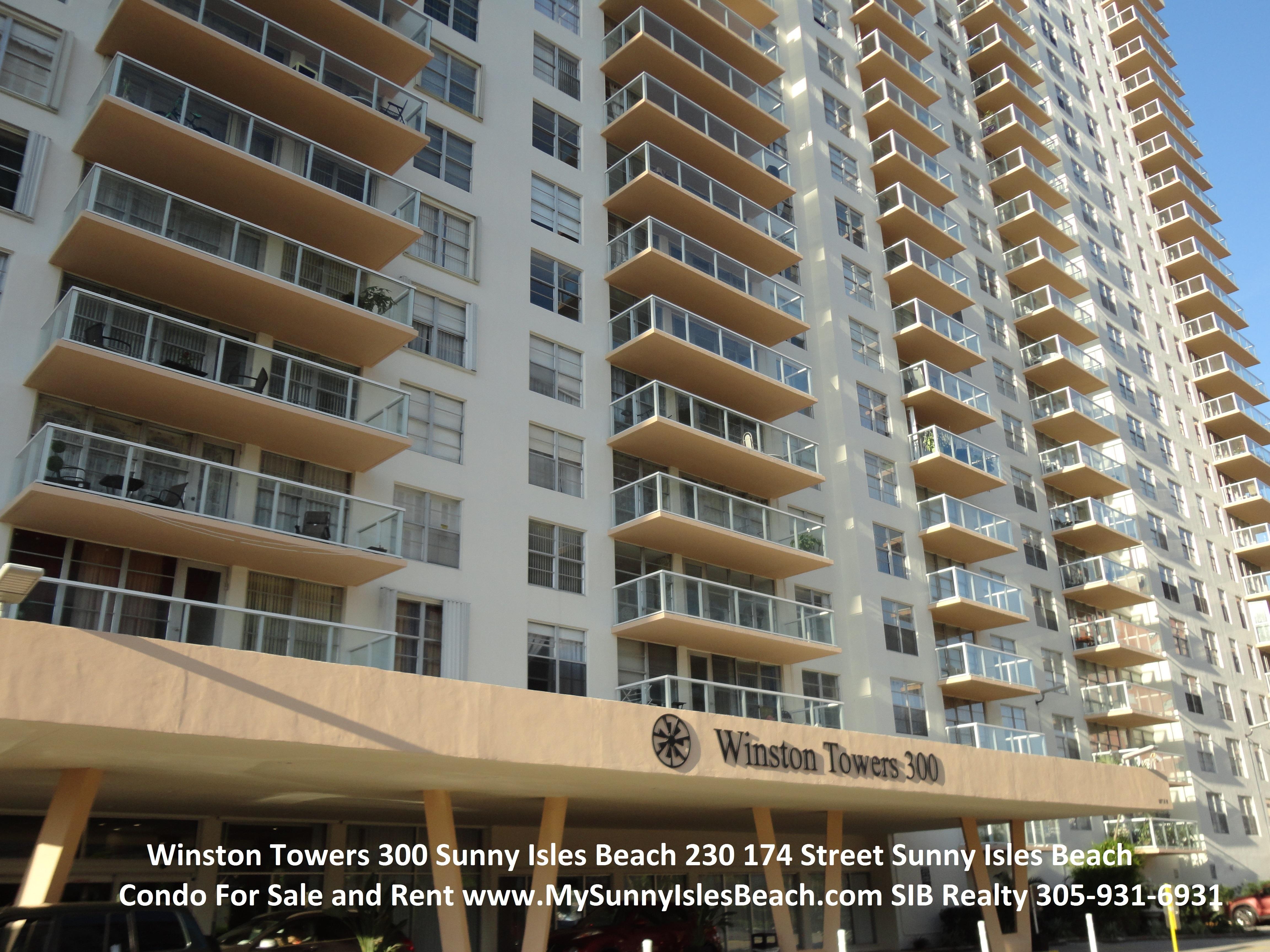 Winston Towers 300 Sunny Isles Beach