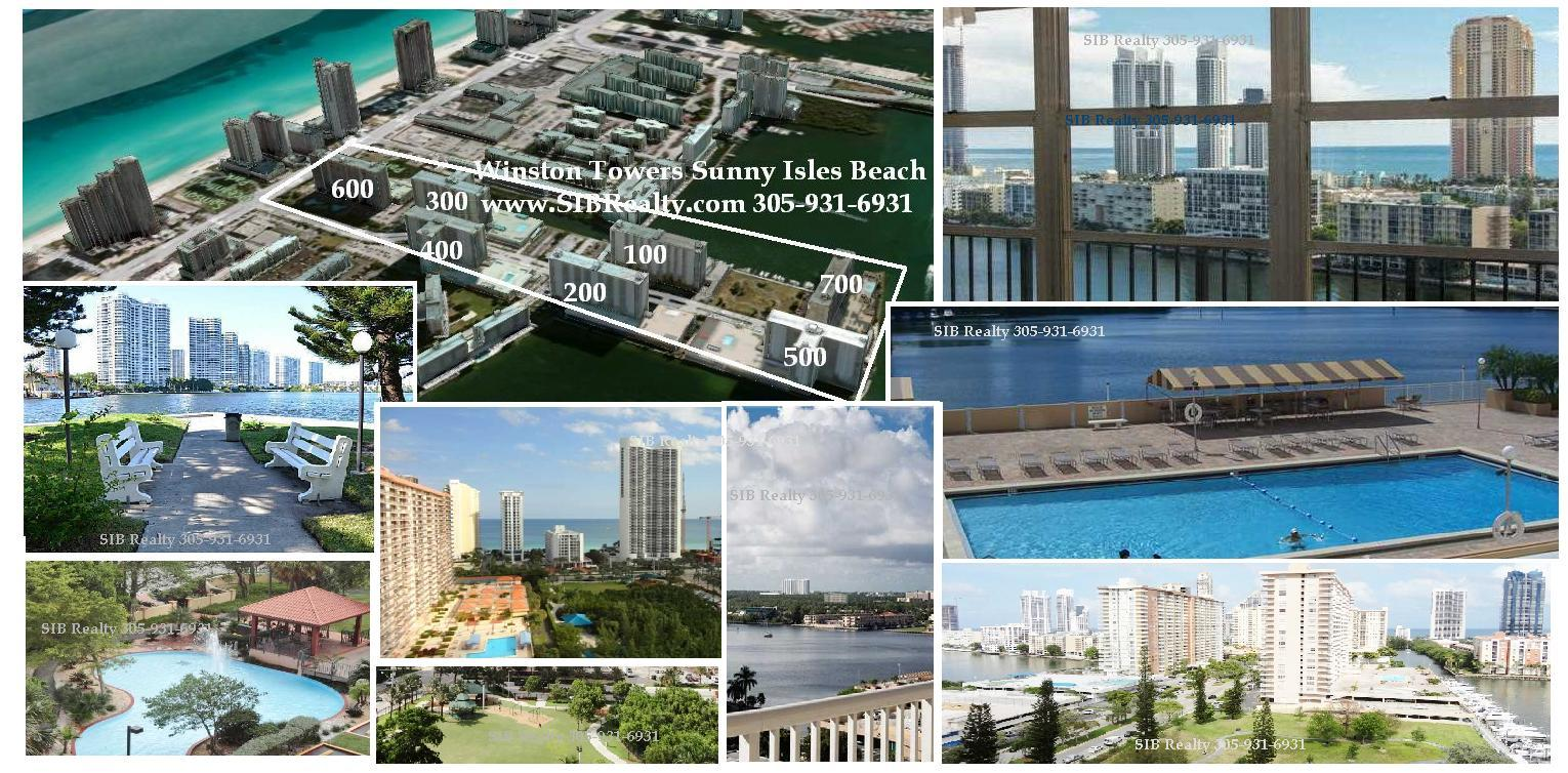 Winston Towers Sunny Isles Beach Sold condos 2016 in 5 months by SIB Realty market report