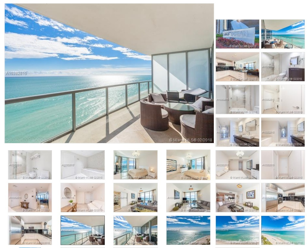 17121 Collins Ave # 1907, SUNNY ISLES BEACH, FL 33160