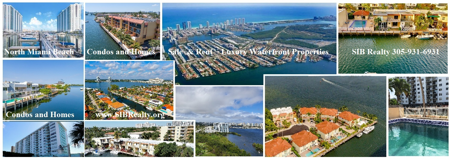 North Miami Beach Condos and Homes for Sale with SIB Realty