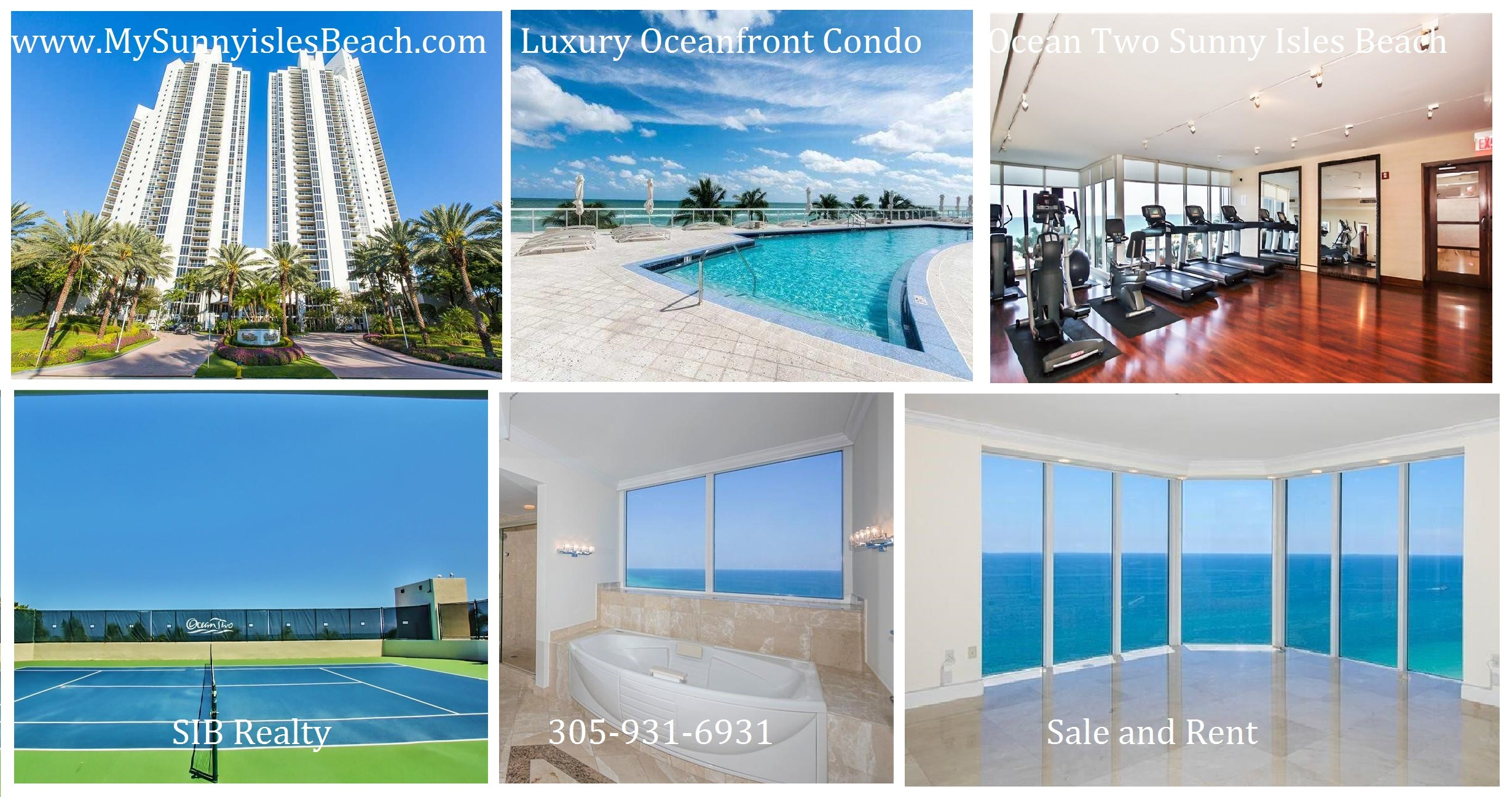 Ocean Two Sunny Isles Beach Condo for Sale SIB Realty