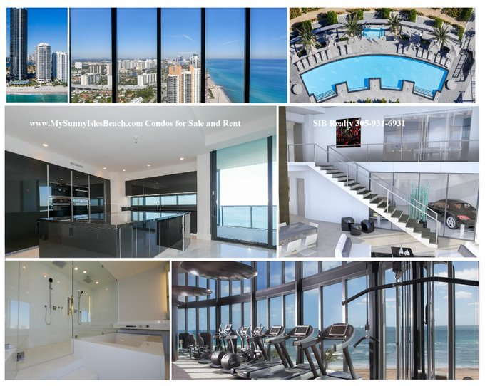 Buy, Rent, Sell condo Porsche Design Tower Sunny Isles Beach with valeria mola realtor