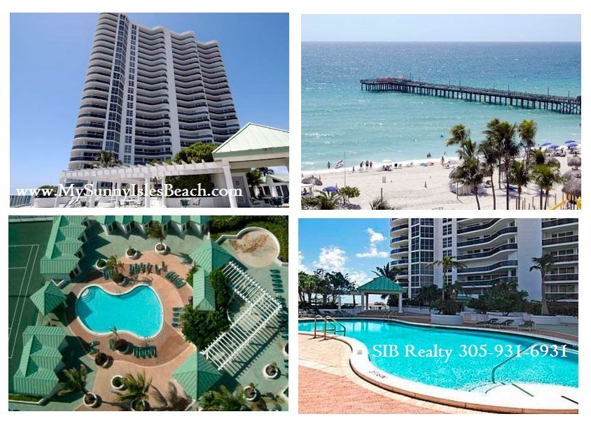 Sands Pointe Sunny Isles Beach buy rent sell condo with SIB Realty