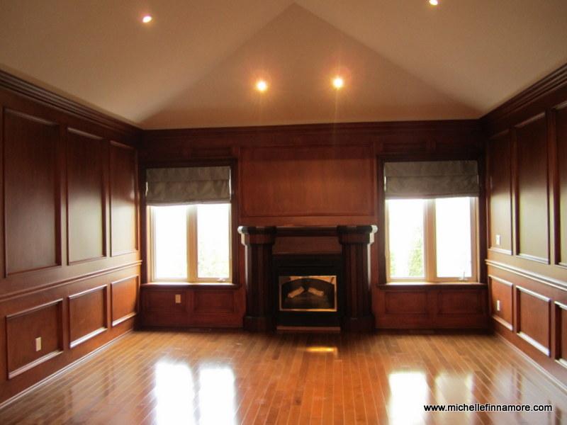 should you paint dark wood paneling a light colour when. Black Bedroom Furniture Sets. Home Design Ideas