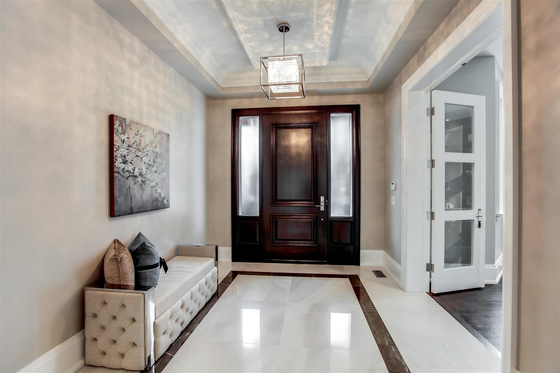 luxury staging foyer