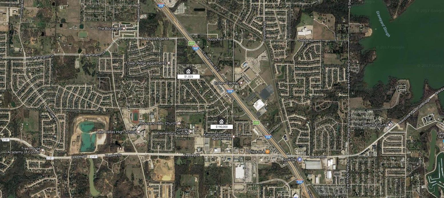 3620 Glenview Dr Corinth Texas 76210
