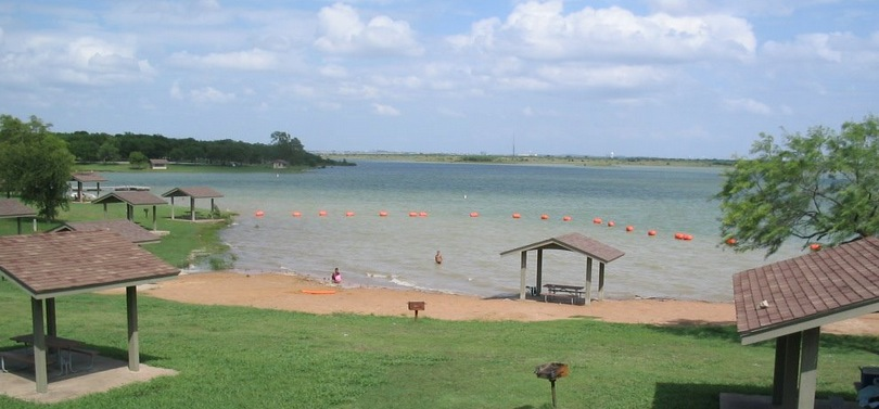 Stewart Creek Park Located On Lake Lewisville In The