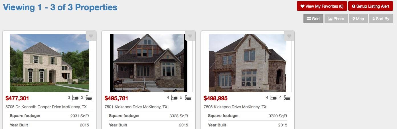 New home builders in trails at craig ranch mckinney tex for Mckinney builders
