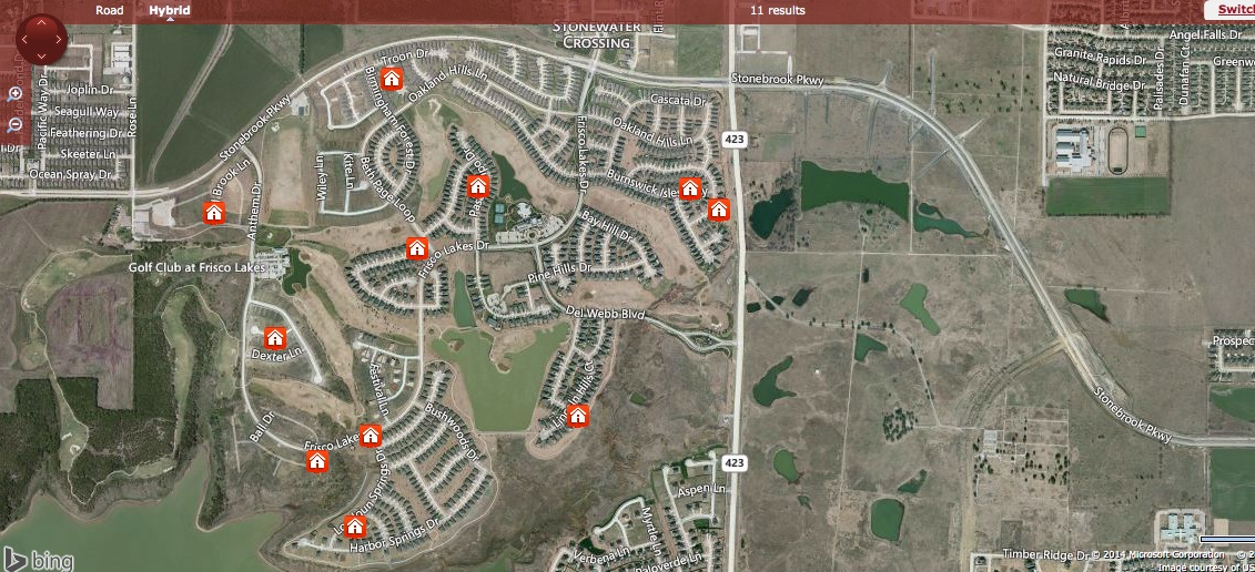 Toyota Headquarters Plano Texas >> Frisco Lakes Golf Club By Del Webb Located In West Fris