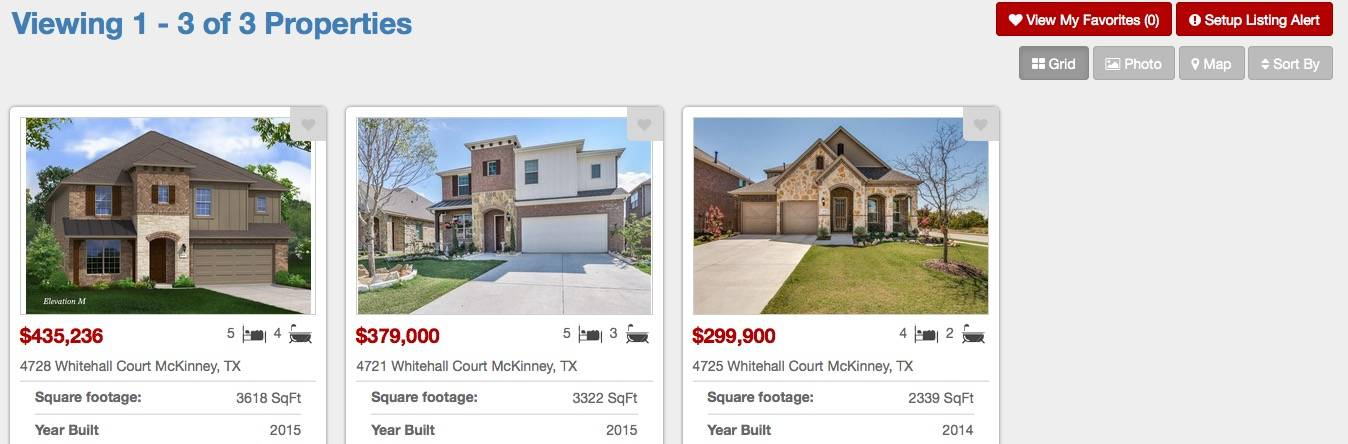New Home Builders In Windsor Park McKinney Texas
