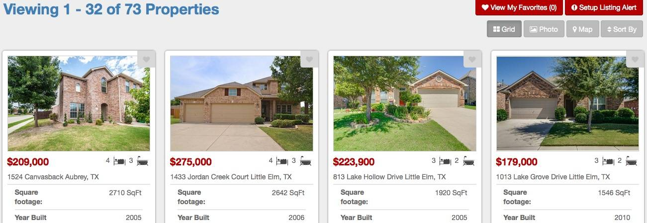 New Home Builders In Paloma Creek Little Elm Texas
