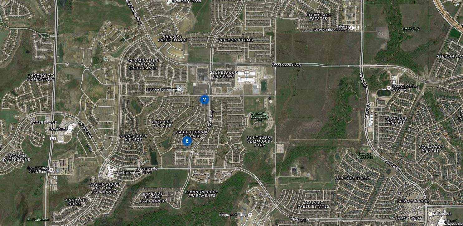 Saddlebrook Village at Lone Star Ranch Frisco TX Real Estate