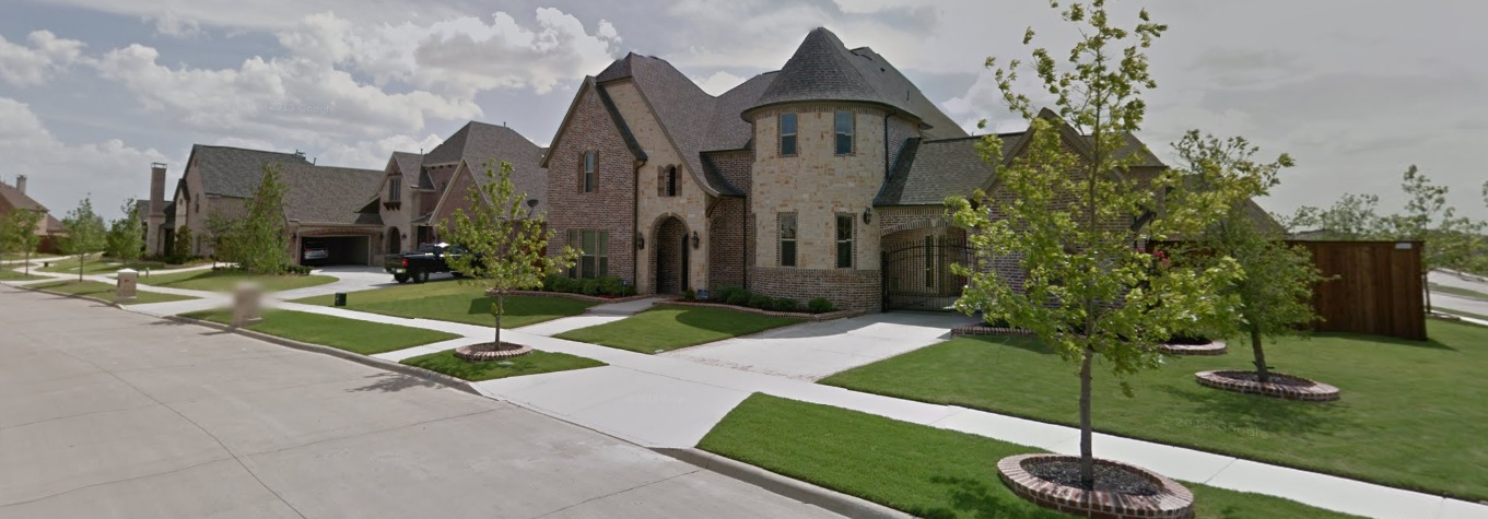 park place estates neighborhood homes in frisco texas