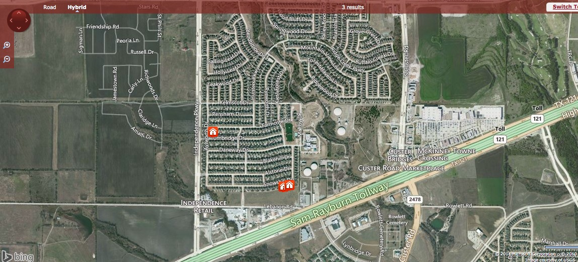 Turnbridge Manor Neighborhood Homes In Frisco Texas