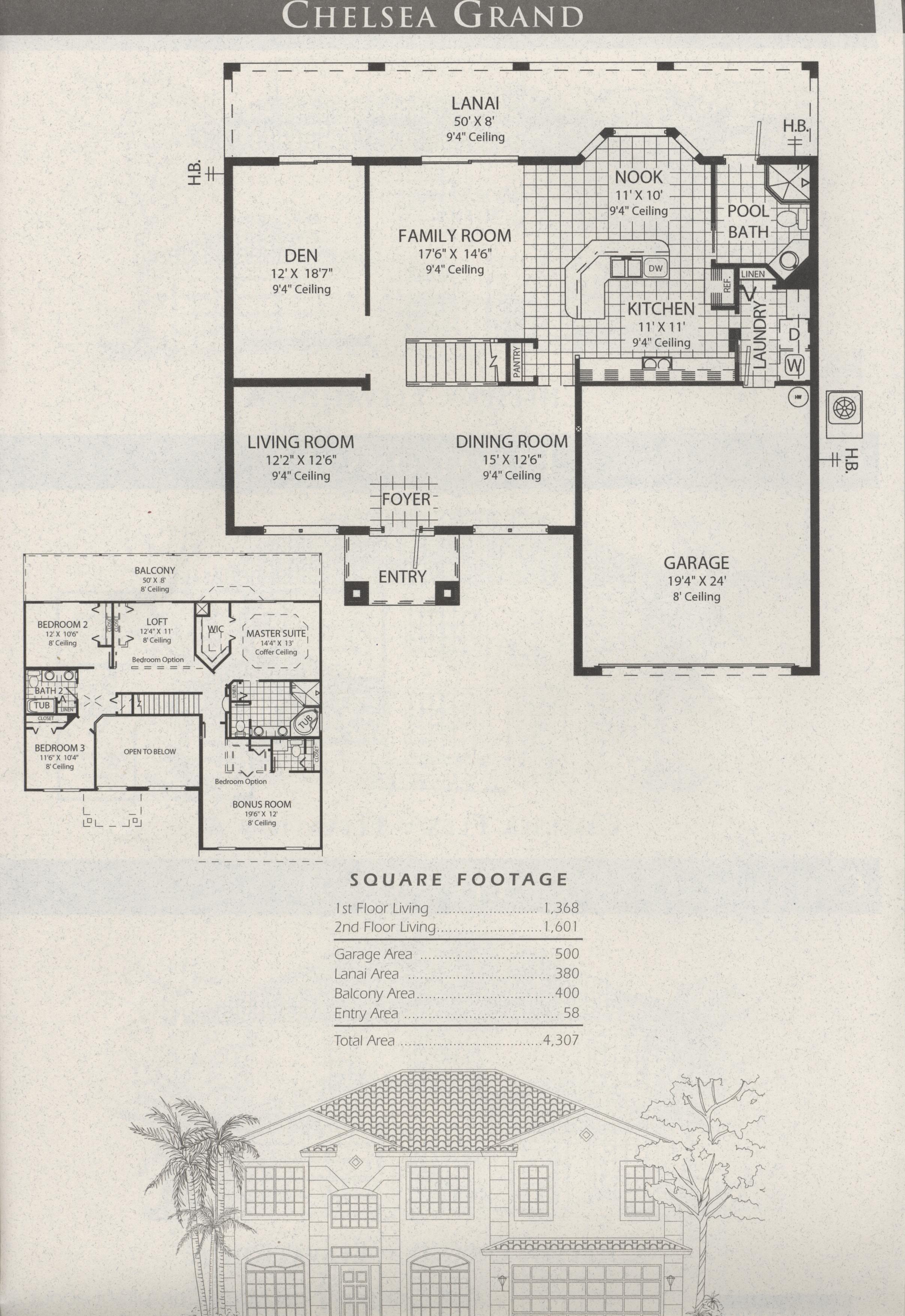 Manor Single Family Homes At The Stoneybrook Subdivision