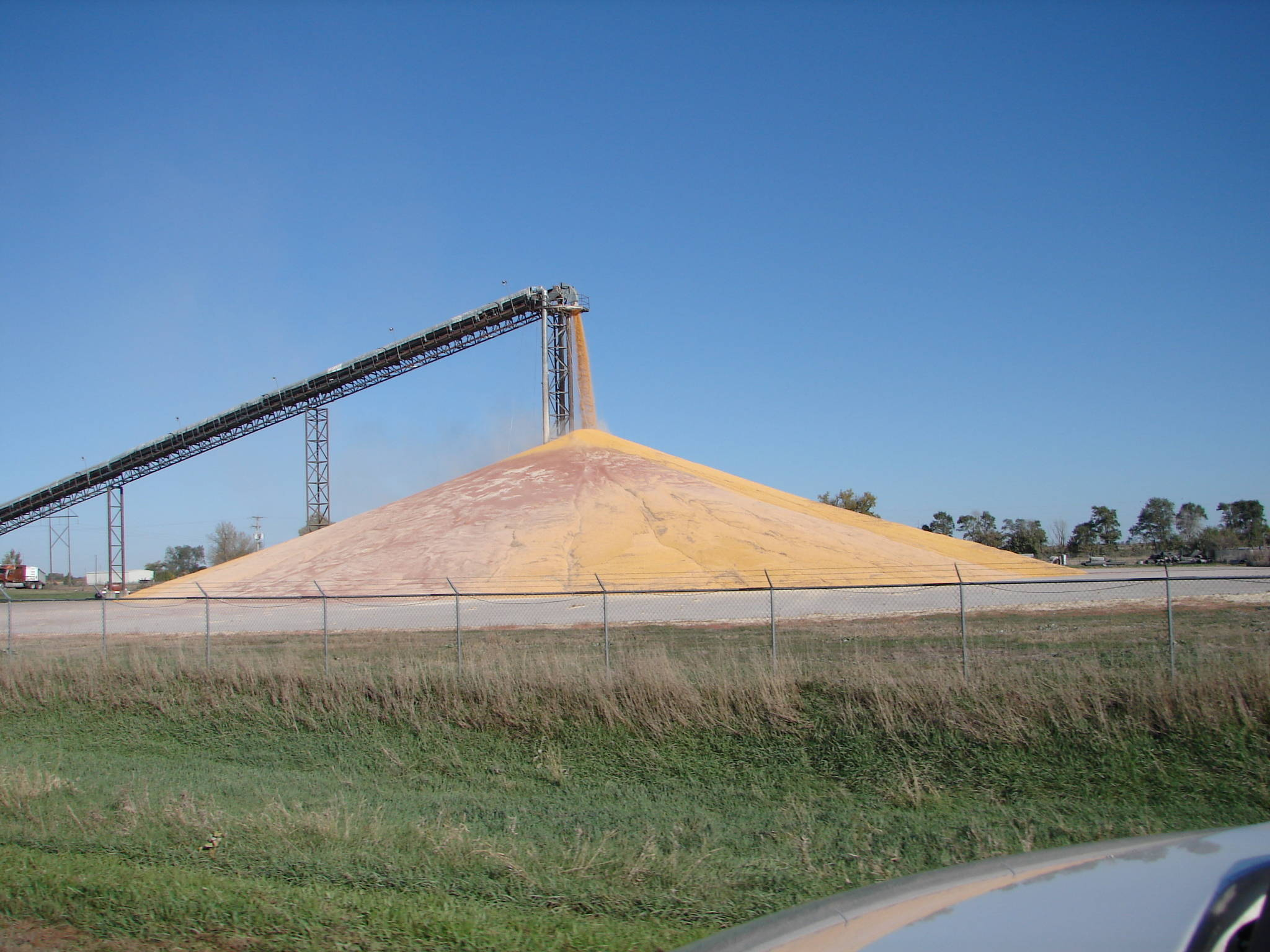 Mike McCann Broker Corn Pile Nebraska Farm Land For Sale