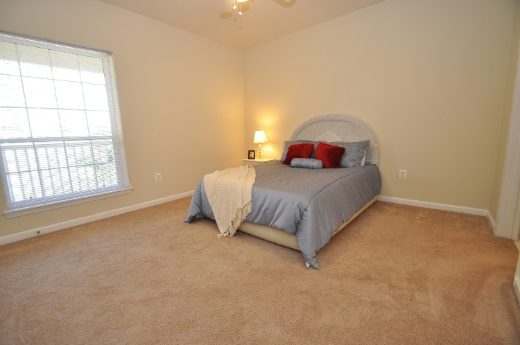 Master bedroom of Unit #2424 in the Palazzo at Park Center