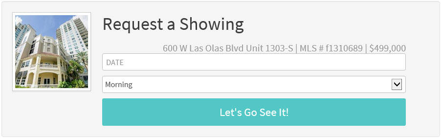 600 W Las Olas Unit 1303 S For Sale