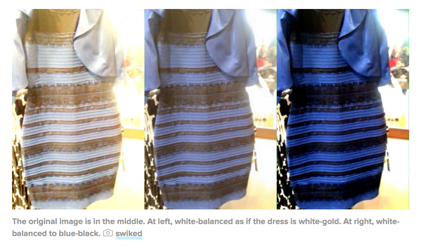 The dress controversy - This Controversy Is Taking Over The Entire Bandwidth Of The Internet Today People Can T Agree If This Dress Is Gold And White Or Blue And Black