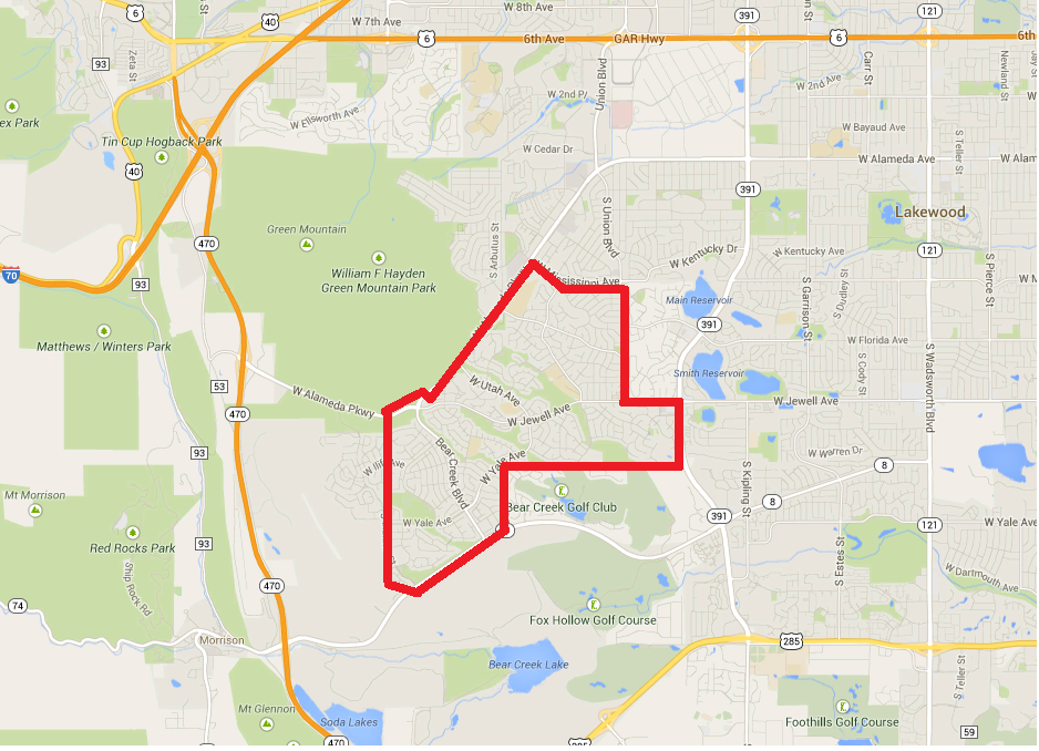 Green Mountain Village Homes for Sale, Lakewood, Colorado