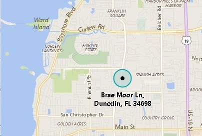 Map Of Dunedin Florida.Brae Moor Grove Dunedin Fl Market Trends