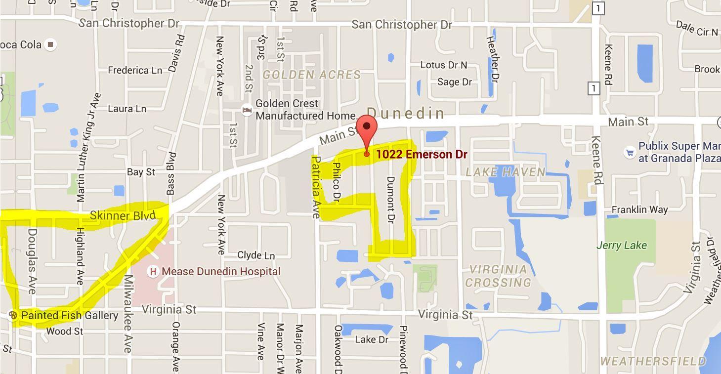 Pleasant Grove Park Dunedin FL Market Trends - Florida map dunedin