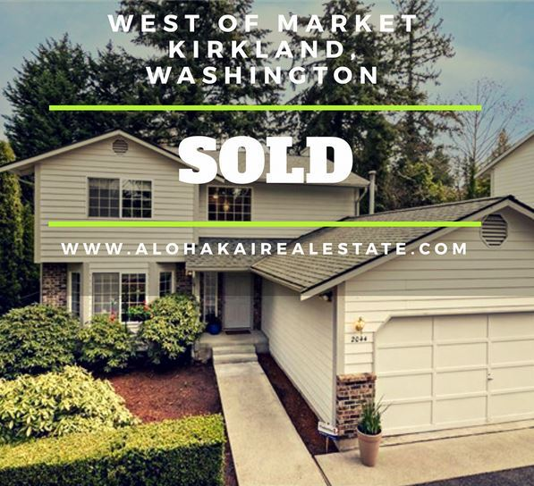 West of Market Street Kirkland Washington Homes