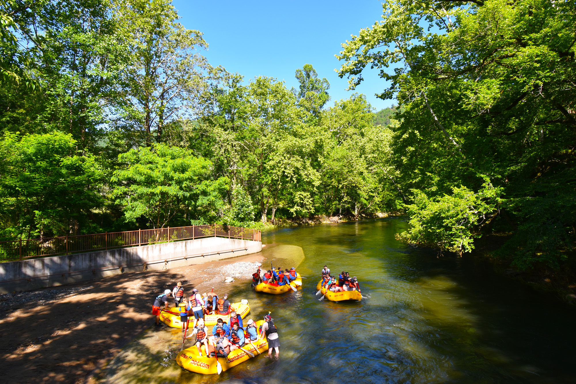 rafting dillsboro north carolina