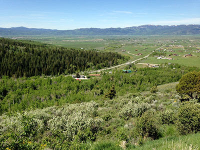 6 acre lot with view