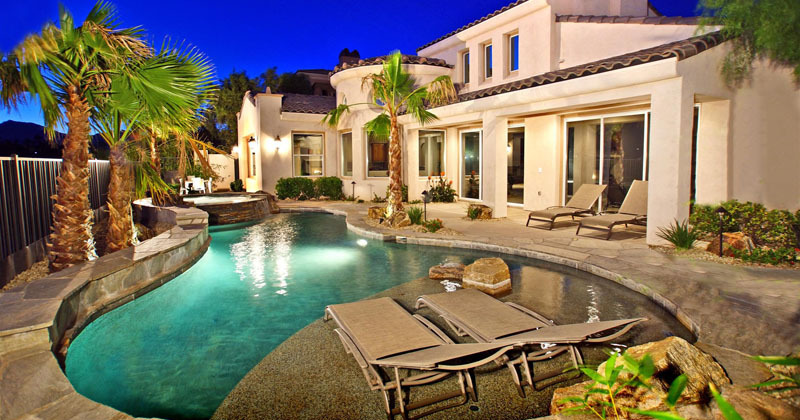 Red Rock homes for sale with pool