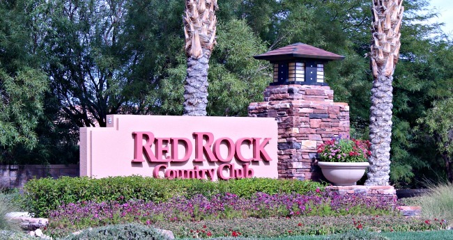 Red Rock country club guard gated