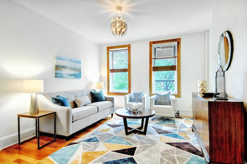 Living Room Brooklyn Apartment