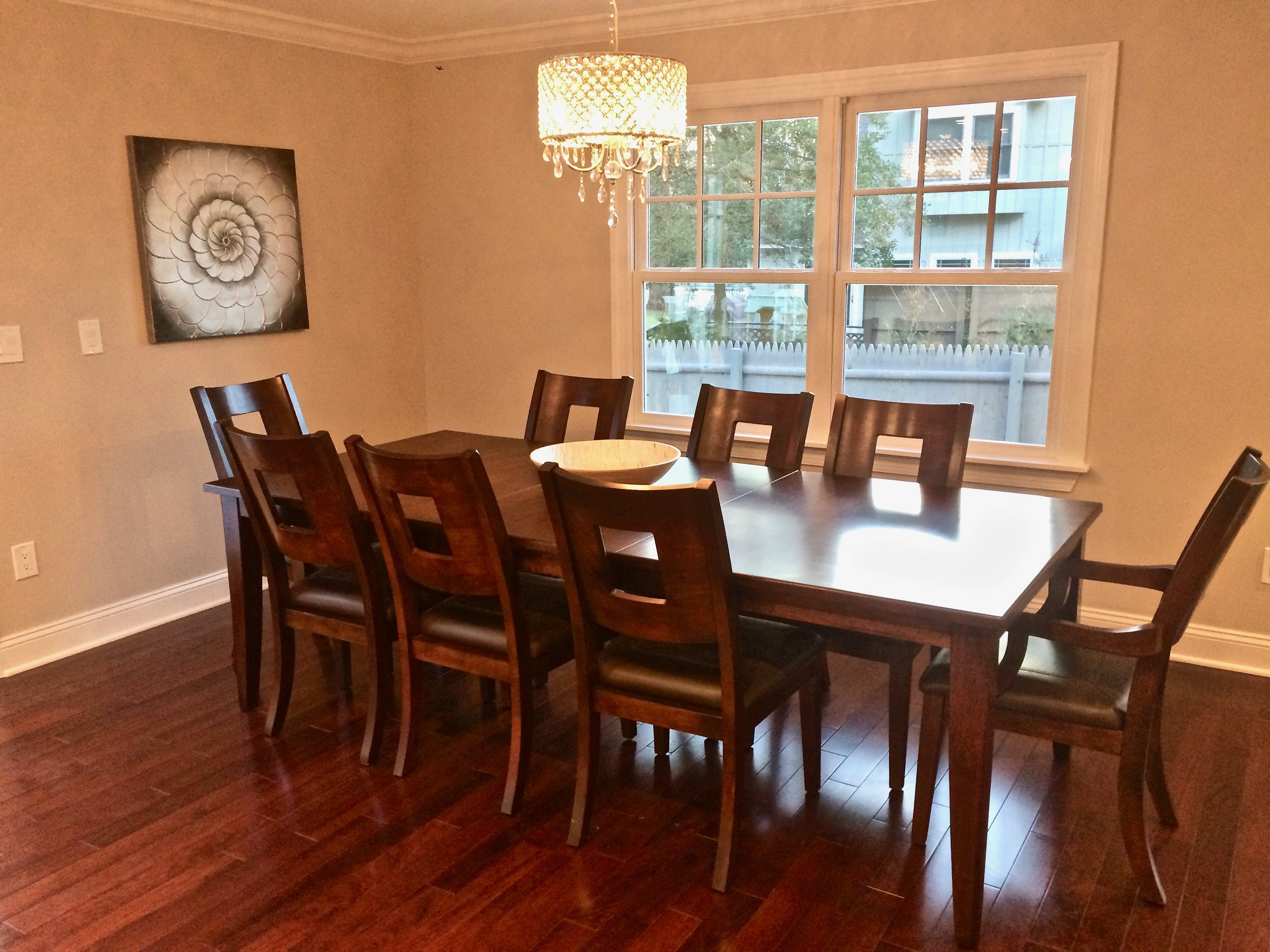 dining room staging NJ