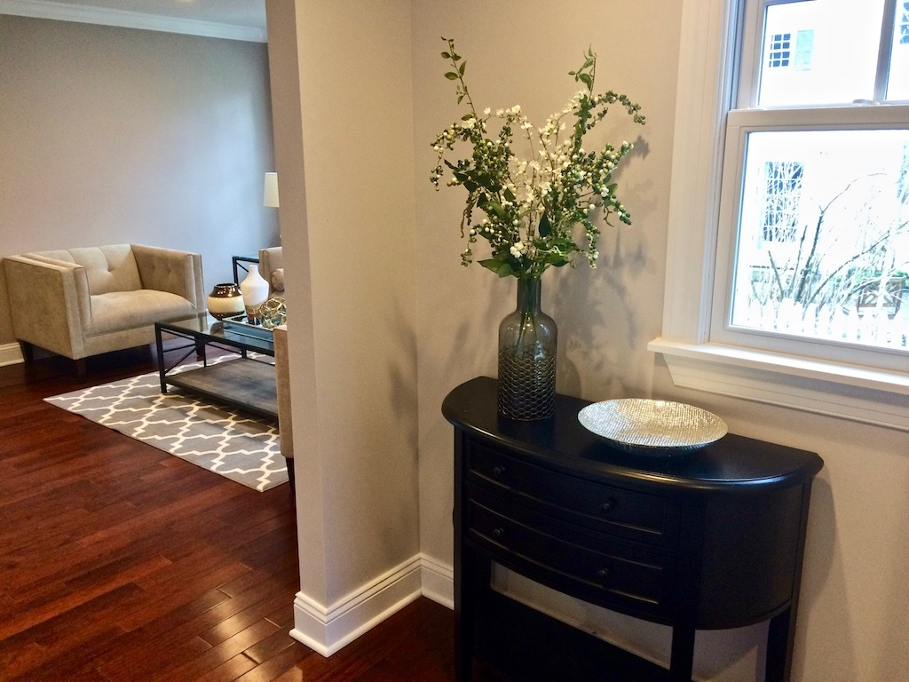 entry way staging NJ