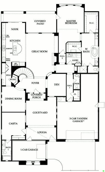 The Majesty Series Of Floor Plans For Fireside At Deser