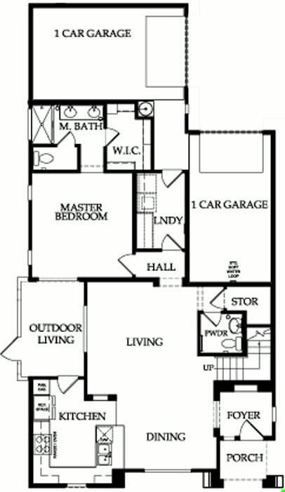 The eternal series of floor plans for fireside at deser for Granite ridge floor plans