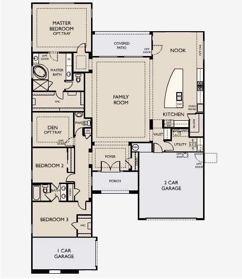 Ashton Woods Estates At Ridgeview Floor Plans In Desert Ridge