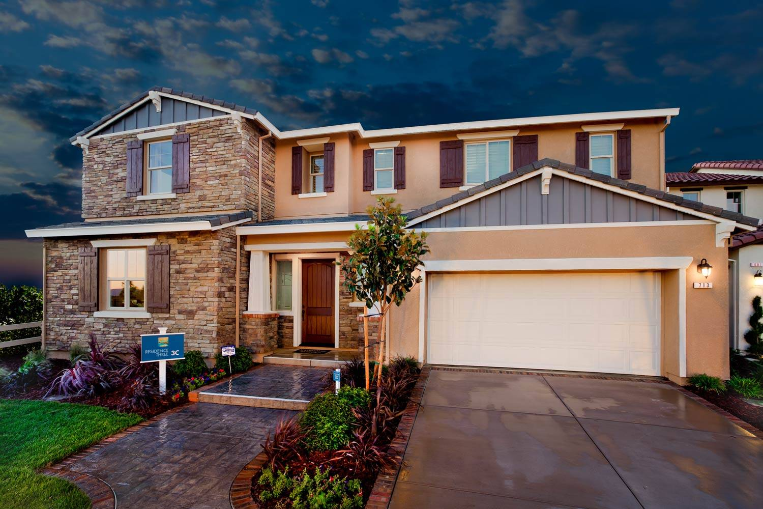 new homes in the community of river islands in lathrop