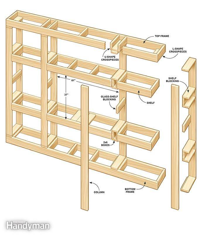Build Your Own Entertainment Center Right Into The Wall