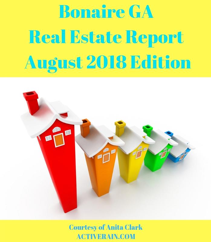 Bonaire GA Real Estate Market Report - August 2018