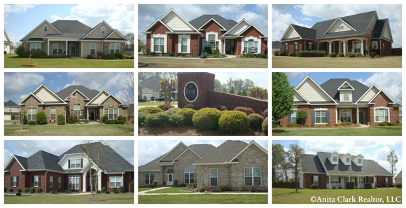 Homes for sale in rose hill subdivision in warner robins for Home builders in warner robins ga