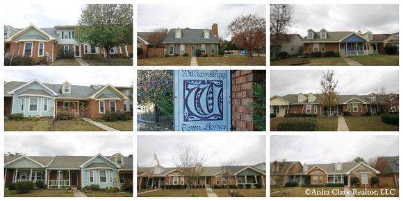 Homes For Sale In Williamsburg Town Homes Subdivision