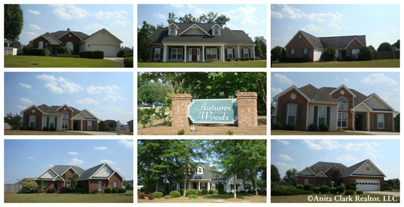 Homes for sale in the autumn woods subdivision in warner for Home builders in warner robins ga