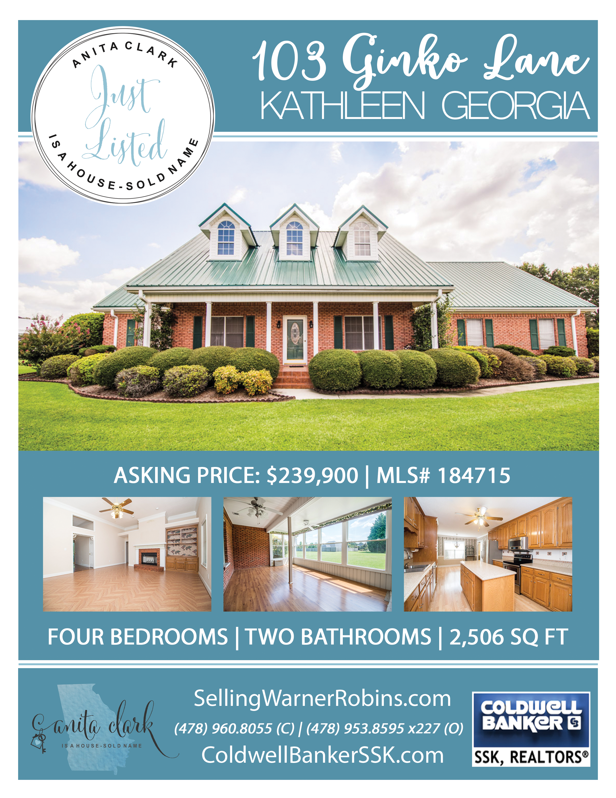 Just Listed in Magnolia Hills Subdivision