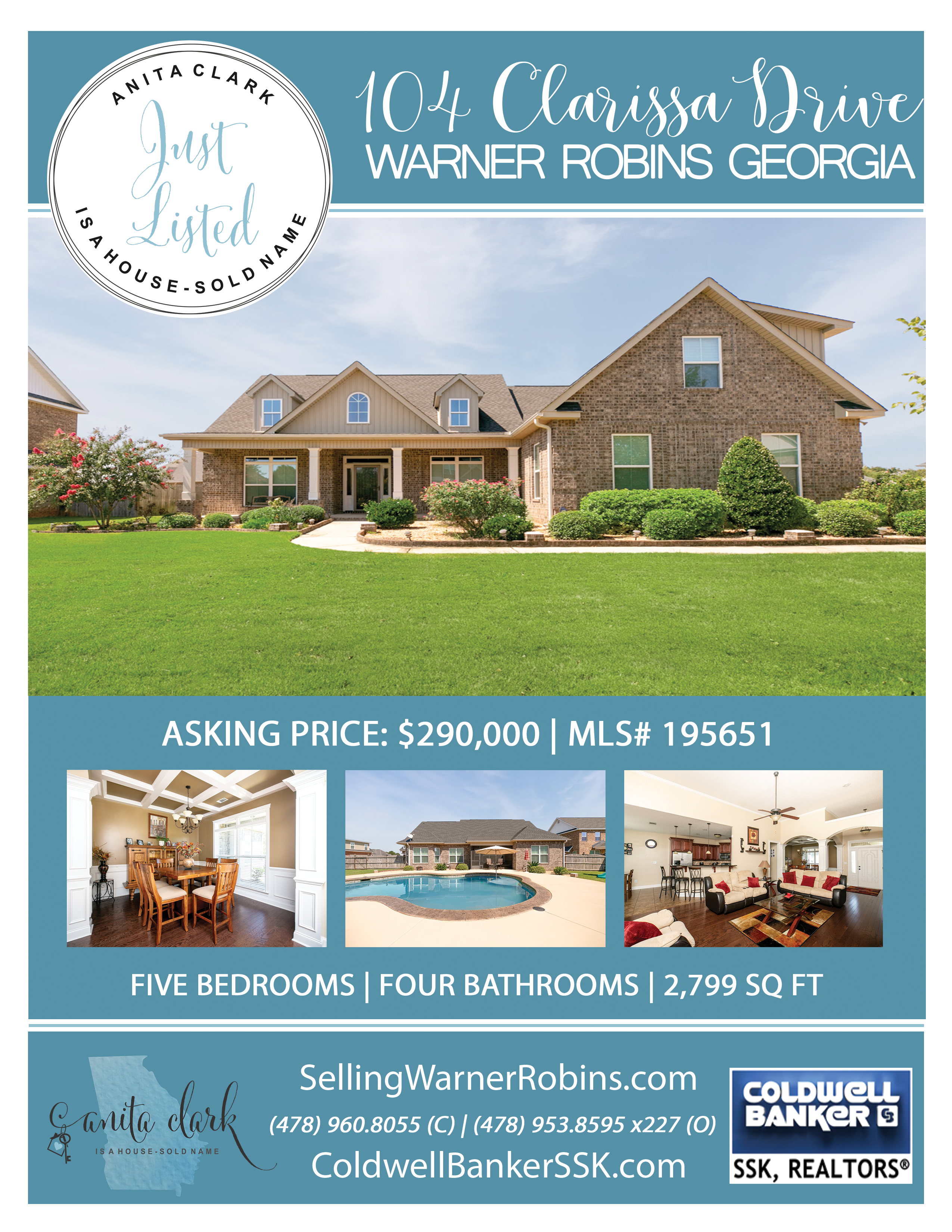 Just Listed in Rose Hill Subdivision